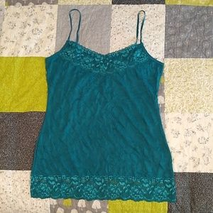 Maurice's Lace Crinkle Cami